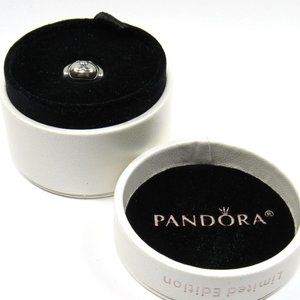 PANDORA Devoted Dog Doggie Face Charm .925 Silver